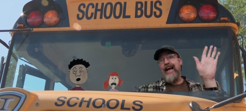 Help! I Can't Stop Doing the School Bus DriverWave!