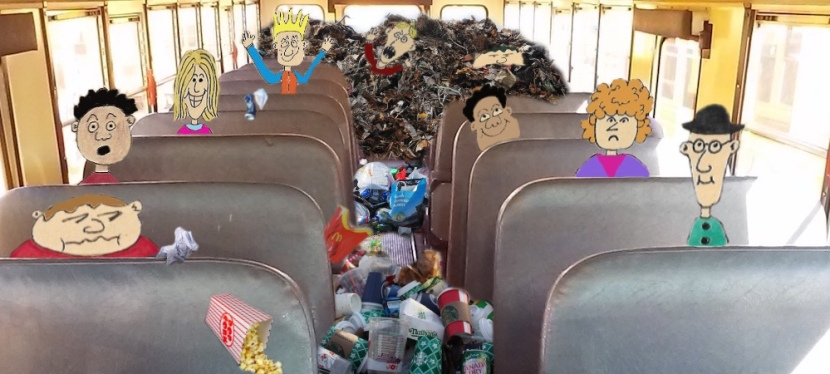 How I Won the School Bus Garbage War